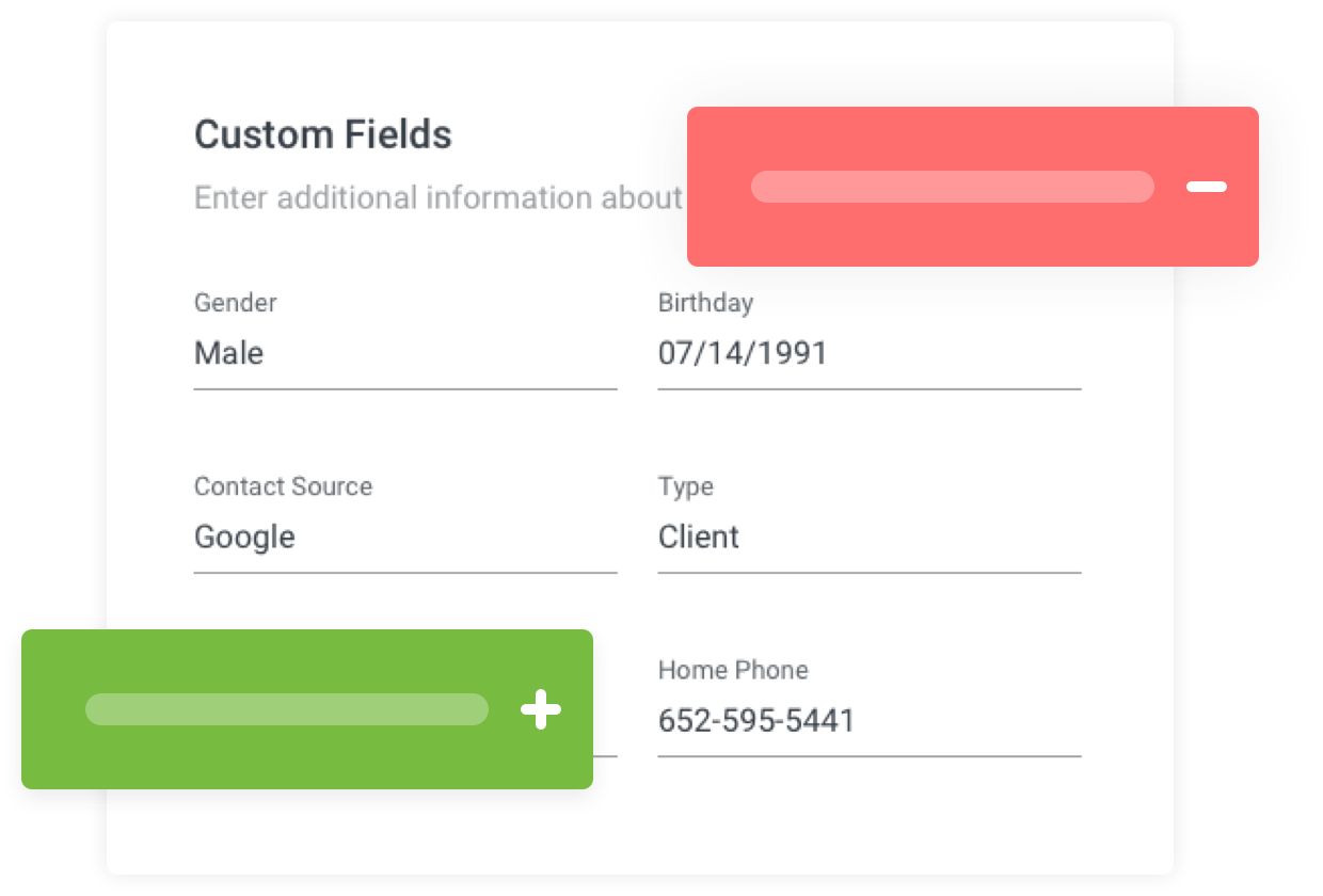 Image: Create Custom Contact Fields